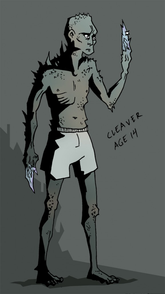 young cleaver